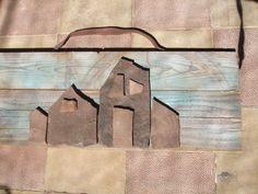kamenný obraz...domečky ... Burlap, Reusable Tote Bags, Facebook, Art, Art Background, Hessian Fabric, Kunst, Performing Arts, Jute