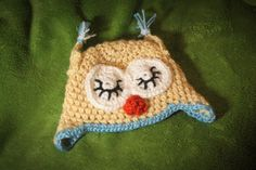 Owl Hat / Baby Boy / 03 Months / Photo Prop by MeganFallow on Etsy, $20.00