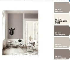 Sherwin Williams paint colors, using Chip It! by patsy