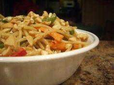 Thai Peanut Noodles | Lauren's Latest