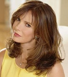 """Check Out Our , Jacquelyn Ellen """"jaclyn"""" Smith Born October 26 1945 is An, Jaclyn Smith 70 Looking Amazing In form Fitting Dress at La, Pin by Lorraine Grant On Jaclyn Smith In Haircut Trends 2017, Medium Hair Styles, Short Hair Styles, Pretty Hair Color, Pelo Natural, Hair 2018, Grunge Hair, Brunette Hair, Layered Hair"""