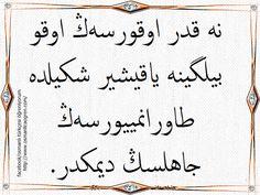 Sadi Şirazi'den...Ne kadar okursan oku bilgine yakışır şekilde davranmazsan cahilsin demektir