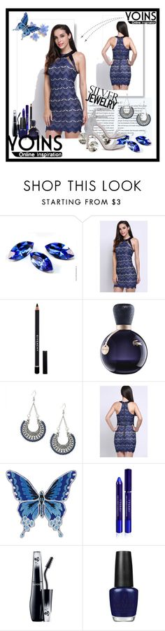"""""""Yoins set^^"""" by erina-salkic ❤ liked on Polyvore featuring Givenchy, Lacoste, By Terry, Lancôme, OPI and yoins"""
