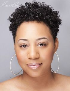 58 Short Curly Hairstyles for African American Women to Try - New Natural Hairstyles