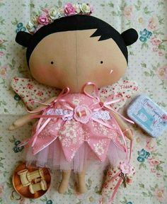 Doll Sewing Patterns, Sewing Dolls, Diy And Crafts Sewing, Sewing Projects, Baby Toys, Kids Toys, Tilda Toy, Bear Doll, Alice