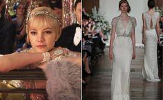 Great Gatsby-Inspired Bridal FashionIdeas