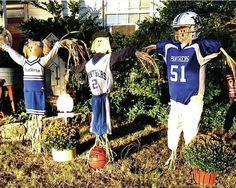 Card stock Scarecrow football
