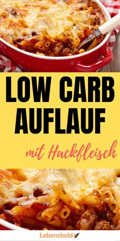 Low carb casserole with minced meat - life hero - The ideal recipe for a low carb mince bake. The ultimate weight loss dish. Healthy Eating Tips, Healthy Nutrition, Smoothies Sains, Law Carb, Keto Cookie Dough, Low Carb Recipes, Healthy Recipes, Snacks Recipes, Soup Recipes