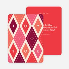 These brightly-colored cards are sure to brighten someone's holiday and let them know you're thinking about. Plus, every order plants a tree. Modern Christmas Cards, Christmas Photo Cards, Christmas Design, Xmas Cards, Corporate Holiday Cards, Business Holiday Cards, Paper Culture, Holiday Invitations, Invites