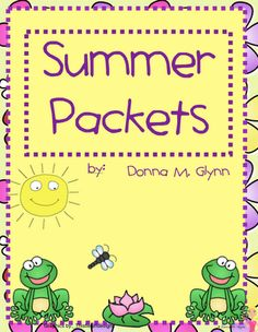 Summer Packets!
