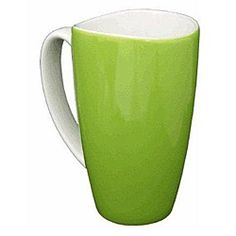 @Overstock - These wavy rim ceramic coffee mugs feature an elegant green finish and white handles. With a dishwasher-safe construction, these easy-to-clean mugs are a kitchen asset.  http://www.overstock.com/Home-Garden/Wavy-Rim-Ceramic-17.5-oz-Green-Mugs-Pack-of-4/5486637/product.html?CID=214117 $30.49