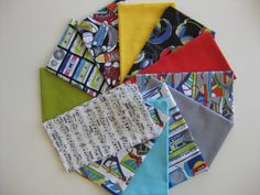 Fabricworm Custom Bundle Hipster in FAT QUARTERS 12 by fabricworm, $30.50