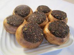mushroom recipes   Stuffed Mushroom Caps Recipe with Savory Mushroom Pate