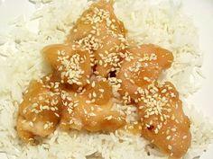 Sesame Chicken baked...