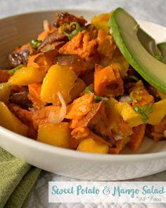 Sweet Potato & Mango Salad #AIP #autoimmuneprotocol #paleo | Enjoying this Journey...