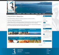 Sito web di presentazione per l'Albergo Diffuso il Borgo dei Marinai di Messina - HomePage - Realizzato con Joomla 2.5 e K2 - Anno 2013