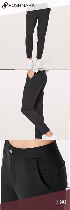City Trek Trouser Lululemon trouser pant. Excellent used condition. Too big for me. lululemon athletica Pants Trousers