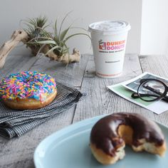 All of the best mornings start with Hot Chocolate and Donuts