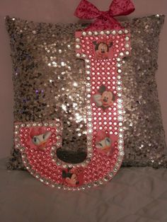 Rhinestone Bling 13 Initial J by ToBlingandBeyond on Etsy, $12.00