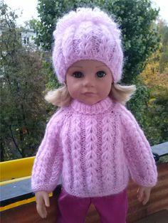 Теплые платьица для девочек Готц. / Одежда и обувь для кукол - своими руками и не только / Бэйбики. Куклы фото. Одежда для кукол