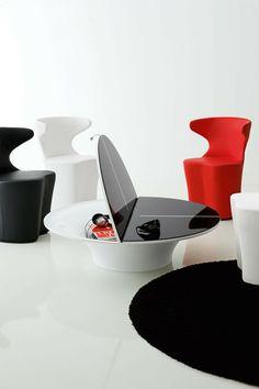 Elegant Designer Relaxsessel Lässt Sich Wie Eine Schubkarre Bewegen | Möbel |  Pinterest