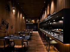 East Beijing Hotel ground floor bar and restaurant - Neri & Hu Design