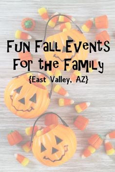 Fun Fall Events for the Family in East Valley, Arizona