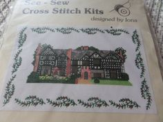 Your place to buy and sell all things handmade Liverpool England, Cross Stitch Kits, Handmade Crafts, Count, History, Sewing, Building, Pattern, Vintage