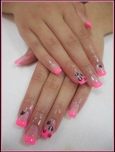 Pink by Ioana - Nail Art Gallery nailartgallery.nailsmag.com by Nails Magazine www.nailsmag.com #nailart