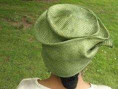 Parasisal Straw Hats New Hand Blocked-1910's door KartisimDesign