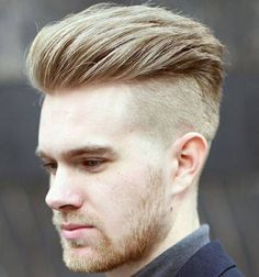 Undercut comes along with a broad range of style. Check out the most trending undercut hairstyle for men that can totally enhance your personality. Undercut Hairstyles Women, Undercut Women, Latest Haircuts, Haircuts For Men, Blonde Guys, Blonde Hair, Moustaches, Style Simple, Disconnected Undercut