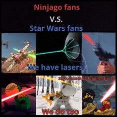 Ninjago vs. Star Wars