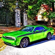 #Dodge #Challenger #Mopar #MuscleCars