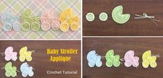 Today we have one of the cutest project tutorials on our display. Baby stroller applique is easily on of the most adorable crochet project you can find and on top of that it is so easy to make that even a novice crochet enthusiast can make one. We can easily grade this project as a… Read More Baby Stroller Applique – Crochet Tutorial