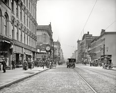 Summit Street, Toledo Ohio..1909