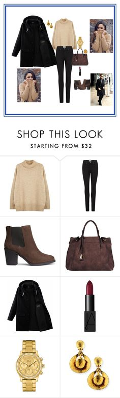"""""""Untitled #10"""" by maida-salanovic ❤ liked on Polyvore featuring NLST, Paige Denim, H&M, Black Rivet, NARS Cosmetics, Lacoste, Jose & Maria Barrera and Vianna B.R.A.S.I.L"""