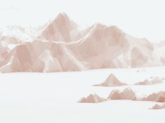 Low-Poly [Non-Isometrics] by Timothy J. Reynolds, via Behance