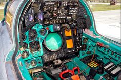 workplace aeronavigator - Photo taken at Voronezh - Baltimor (UUOW) in Russia on August Russian Jet, Russian Plane, Aircraft Interiors, Mig 21, Russian Air Force, Aircraft Pictures, Aircraft Carrier, Hot Cars, Fighter Jets