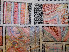 Mary Ruth Smith...on the Kathleen Loomis blot Art with a needle