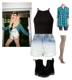 """""""Adore delano inspired outfit"""" by lindylicous2 ❤ liked on Polyvore featuring Topshop, Sandra, Kate Spade and Dr. Martens"""