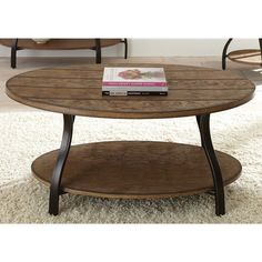 Dante Oval Coffee Table