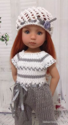 Knitting Dolls Clothes, Crochet Doll Clothes, Knitted Dolls, Girl Doll Clothes, Crochet Dolls, Girl Dolls, American Girl Crochet, American Doll Clothes, Christmas Knitting Patterns