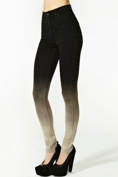 Nasty Gal Second Skin Jeans