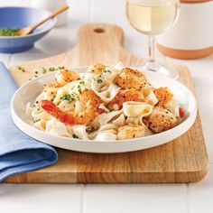 Poisson/fruits de mer - Page 10 of 27 - 5 ingredients 15 minutes Seafood Recipes, Cooking Recipes, Healthy Recipes, Easy Recipes, Confort Food, Pasta Al Dente, Seafood Seasoning, Scampi, Tagliatelle