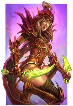 Valeera #hearthstone #warcraft #legion
