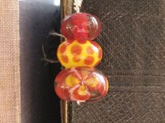Lampwork glass beads    http://www.etsy.com/shop/ChrissieBeads