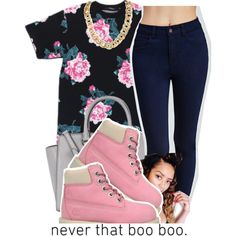 ~Chauncey by g-oddesses on Polyvore featuring Forever 21, Timberland and Michael Kors