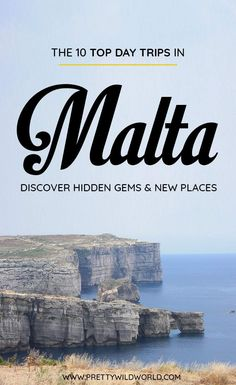 Top Day Trips in Malta Road Trip Europe, Places In Europe, Europe Travel Guide, Travel Guides, Travel Destinations, Europe Train, Malta Malta, Malta Beaches, Europe Bucket List