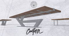 We've been working with a new 3D modeling software for our next client to build a conference table. Brings my crazy ideas to life! Contact us for your custom build!  IndustrialReclaim.com  #reclaimed #repurpose #salvaged #industrialdesign #vintage #vintageindustrial #industrial #modern #moderndesign #patina #interiordesign #interiordesigner #chicago #chicagostyle #Chicagoartist #Chicagoart #home #etsy #wood #metal #table #office #business #forbes #insta_chicago #chicagogram #metalwork…