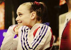 FRANCE - Claire Martin - Gymnastique  Le sourire de la médaille!
